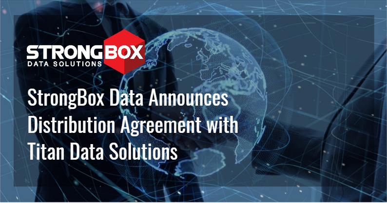 Distribution Agreement with Titan Data Solutions